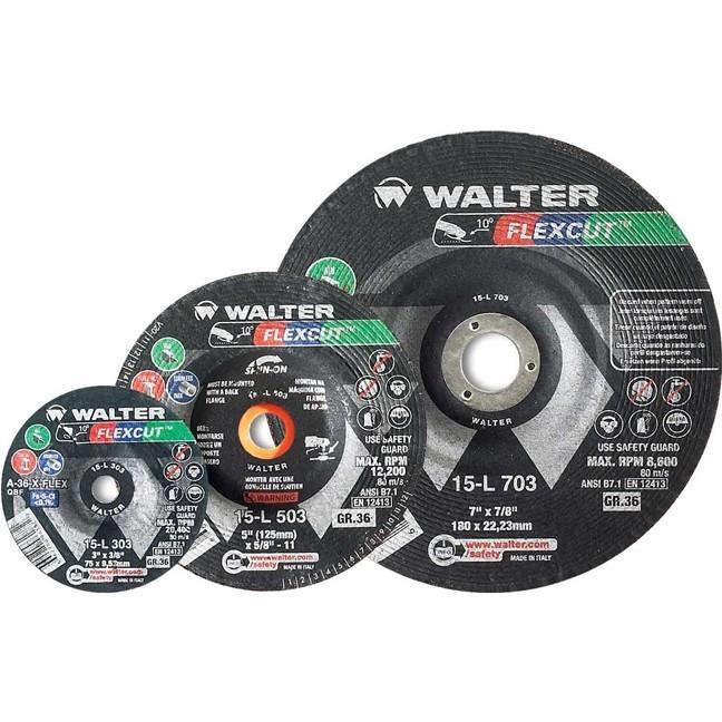"Walter 15L503 5"" 36G Flexcut Grinding Disc"