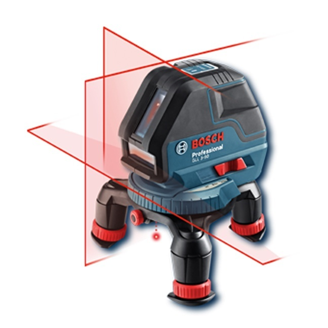 Bosch Gll3 50 Three Line Laser With Layout Beam Bc Fasteners