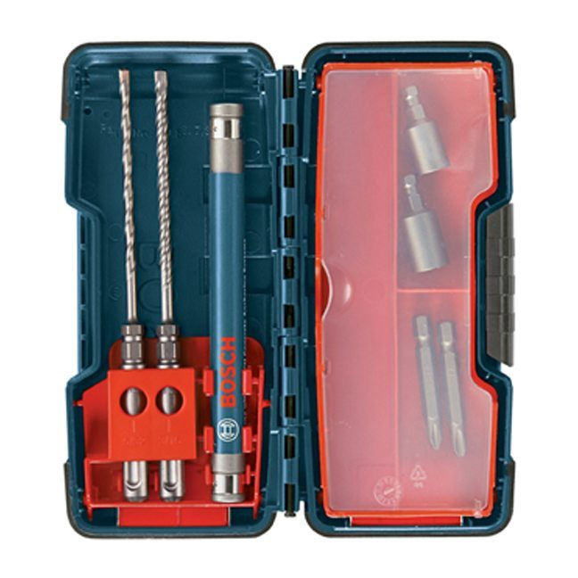 Bosch HC2309 9 Piece SDS-Plus Anchor Drive Installation Kit