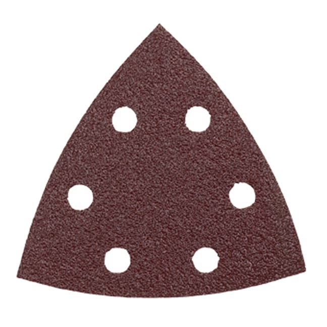 Bosch SDTR081 80 Grit Abrasive Triangles for Wood - 50pk
