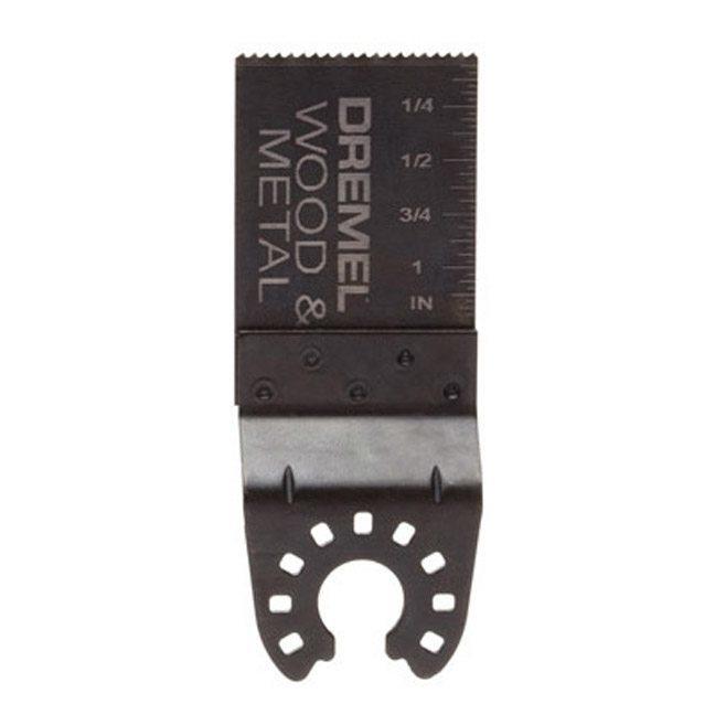 "Dremel MM462 1-1/8"" Wood & Metal Flush Cut Blade"