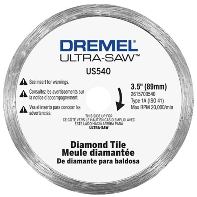 Dremel Us540 01 Diamond Tile Cutting Wheel