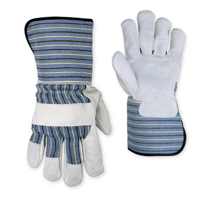 Kuny's 2048 Leather Palm Safety Cuff Work Gloves