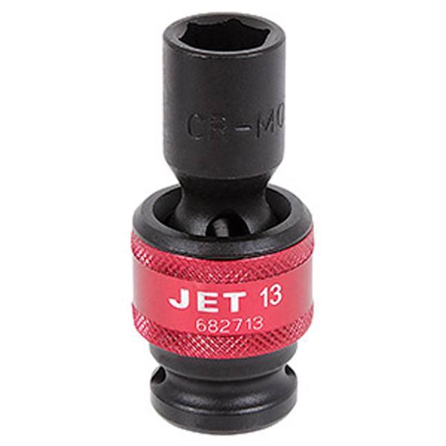 "Jet 682717 1/2"" DR x 17mm Universal Impact Socket - 6 Point"