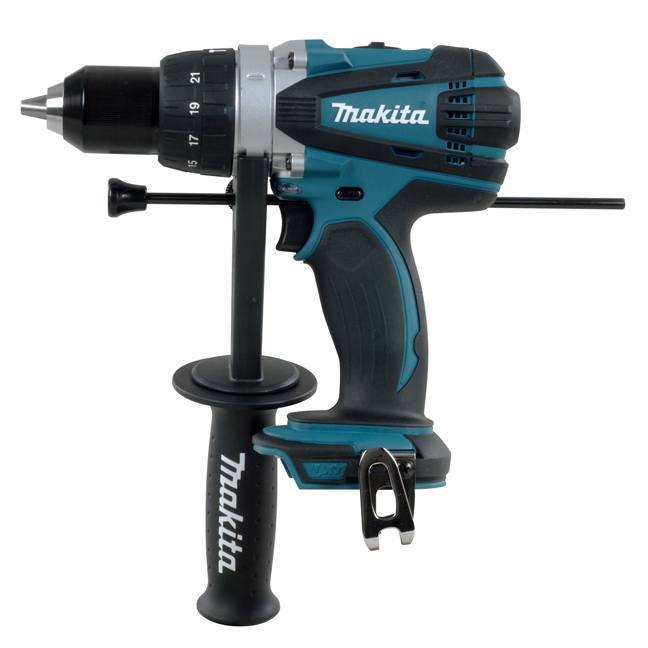 makita dhp458z 18v hammer driver drill bc fasteners. Black Bedroom Furniture Sets. Home Design Ideas
