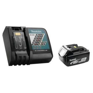 Makita Y-00309 18V 5.0Ah Battery & Rapid Charger Kit