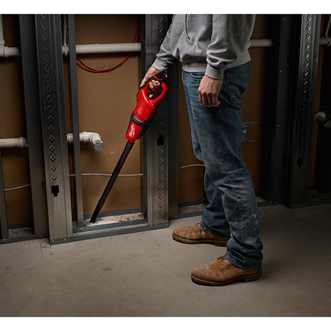 Milwaukee 0850-20 M12 Compact Vacuum In Use