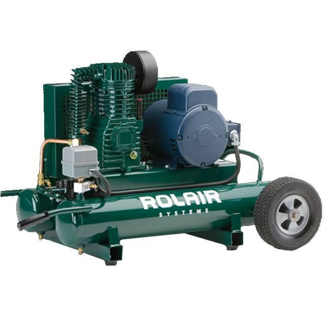 Rolair 3095k18 3hp Wheeled Electric Compressor