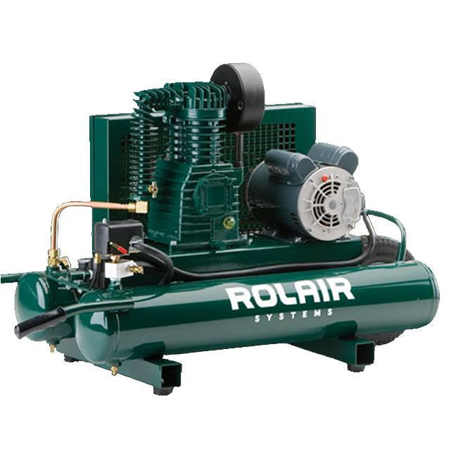 Rolair 5715k17 1 5hp wheeled electric compressor for 5 hp electric motor for air compressor