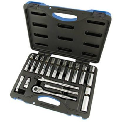 "Jet 600234 30 PC 3/8"" DR Metric Socket Wrench Set - 6 Point"
