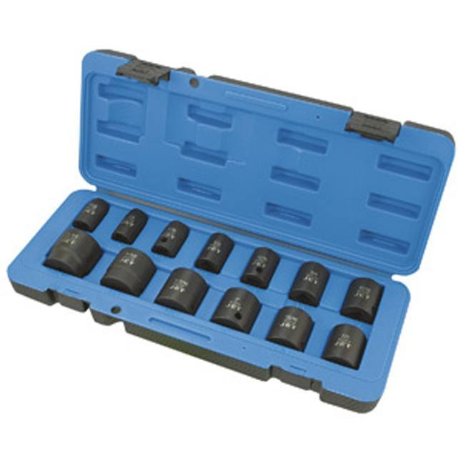"Jet 610321 13 PC 1/2"" DR SAE Impact Socket Set - 6 Point"