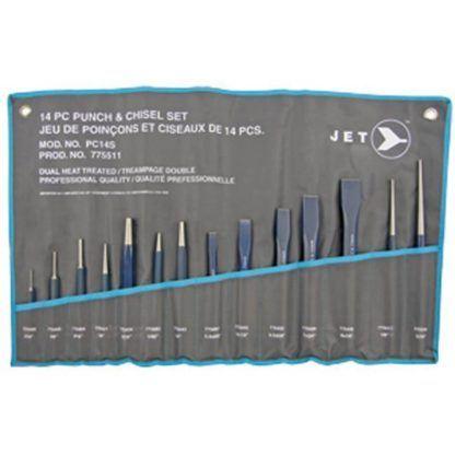 Jet 775511 14 PC Punch & Chisel Set