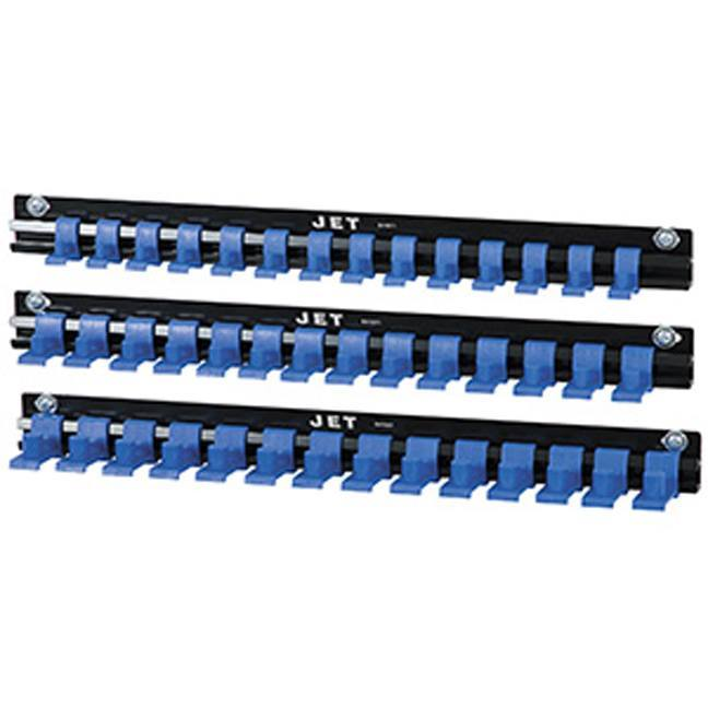 "Jet 841001 3 PC Organizer Set for 1/4, 3/8 & 1/2"" Drive Sockets"