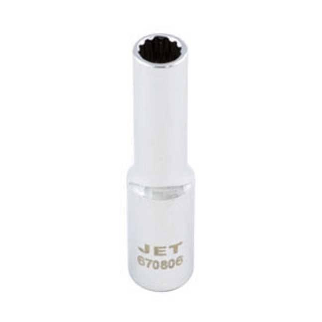 Jet Deep Chrome Socket - 12 Point