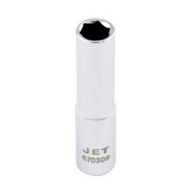 Jet Deep Chrome Socket - 6 Point
