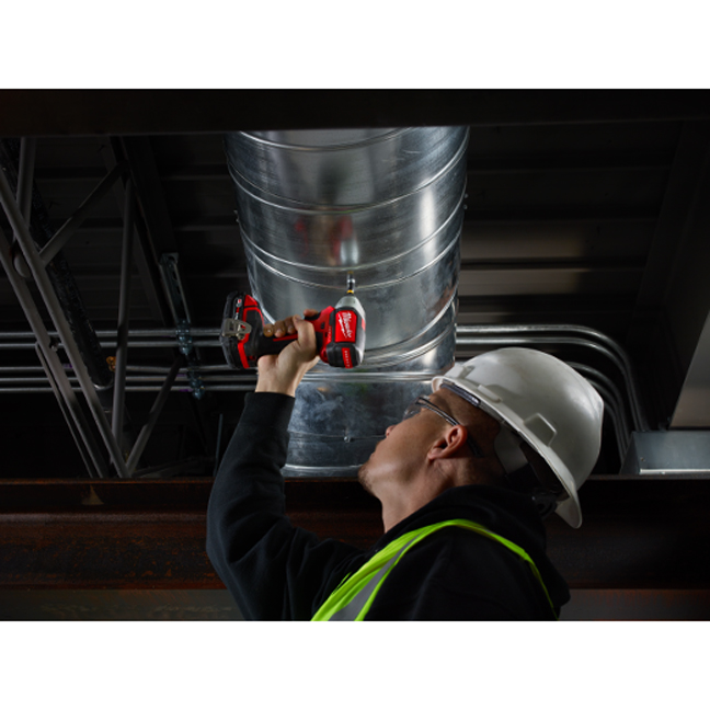 Milwaukee 2750-20 M18 Hex Brushless Impact Driver In Use 1