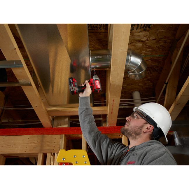 Milwaukee 2750-20 M18 Hex Brushless Impact Driver In Use 4