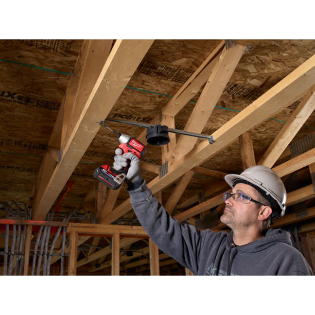 Milwaukee 2750-20 M18 Hex Brushless Impact Driver In Use 6