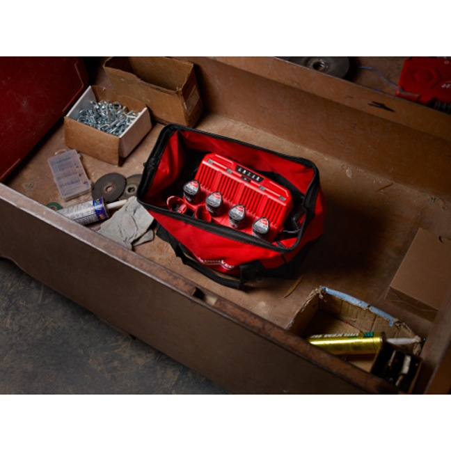Milwaukee 48-59-1204 M12 Four Bay Sequential Charger104 In Use 5