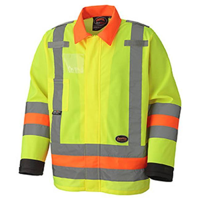 Pioneer 6007 Hi-Viz Traffic Control Safety Jacket