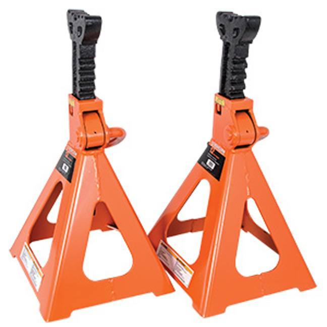 Strongarm 032246 12 Ton Jack Stands - Ratcheting Style