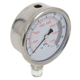 """Strongarm 033151 4"""" Pressure Gauge"""