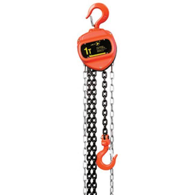 Jet 101012 1 Ton 10' Lift VCH Series Chain Hoist - Standard Duty