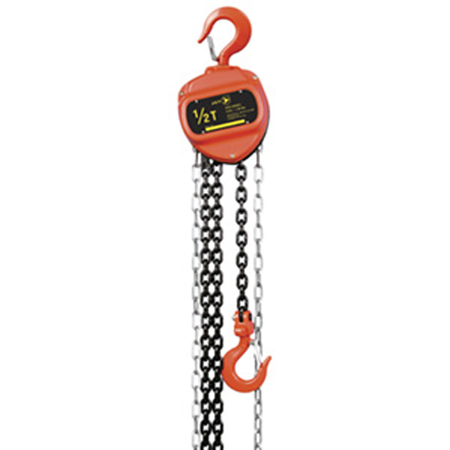 Jet 101036 2 Ton 20' Lift VCH Series Chain Hoist - Standard Duty
