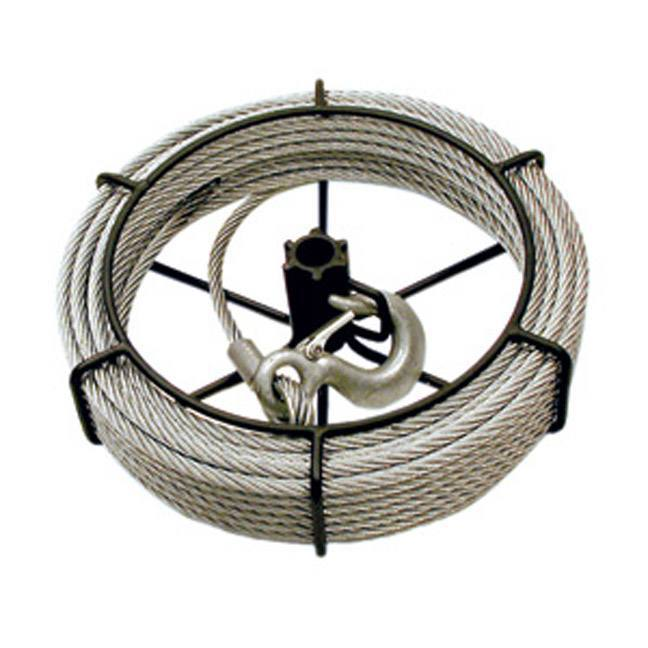 Jet 111152 3/4 Ton 66' Cable Assembly For Wire Grip Pullers