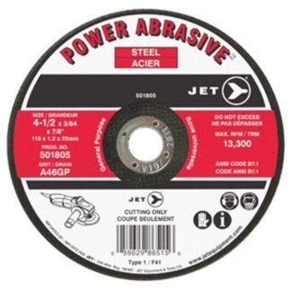 Jet A60GP POWER ABRASIVE T1 Cut-Off Wheel