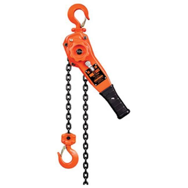 Lever Chain Hoist : Jet ton lift klp series lever chain hoist