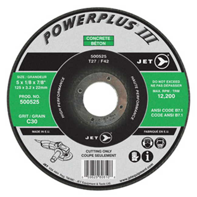 Jet POWERPLUS CON Cutting Wheel