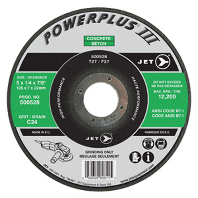 Jet POWERPLUS CON Grinding Wheel