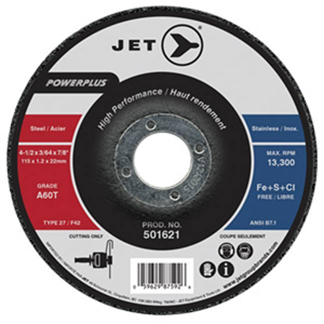 Jet POWERPLUS T27 Cut-Off Wheel