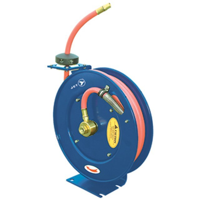 Jet Retractable Air Water Hose Reel
