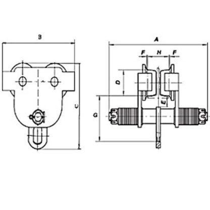 Jet SBT Series Manual Trolley - Parts