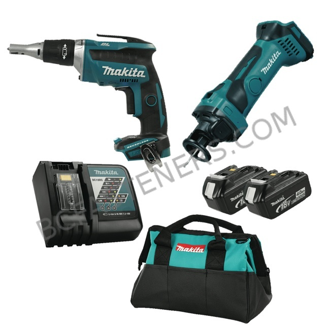 Makita DLX2089M 18V LXT 2 Piece Cordless Combo Kit