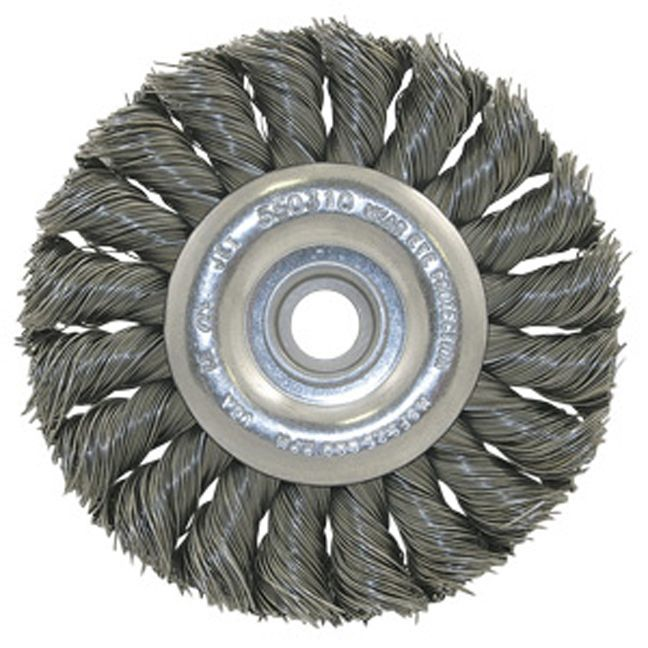 Jet 550306 8 x (5/8-1/2) Knot Twisted Wire Wheel