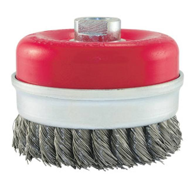 Jet 553652 4 x 5/8-11 NC Knot Banded Cup Brush