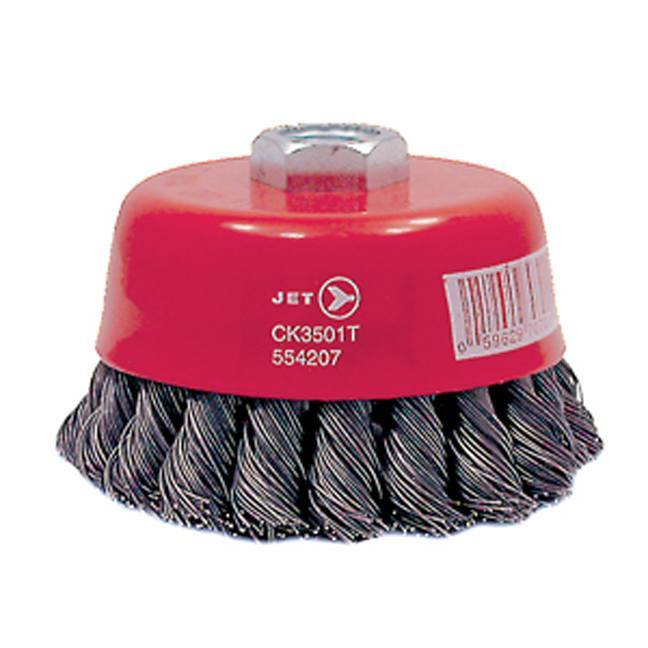 Jet 554202 3 x 14mm Knot Twisted Cup Brush
