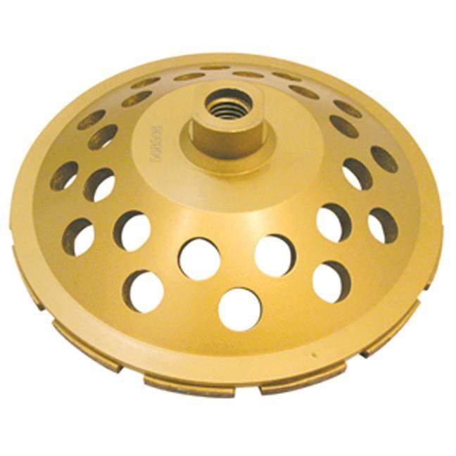 Jet 568501 4 x 5/8-11NC Single Row Diamond Cup Wheel