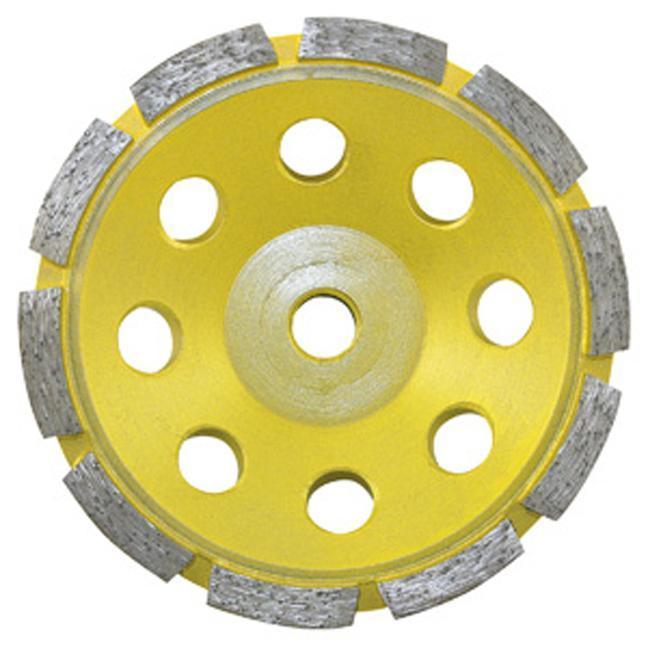 Jet 568503 5 x 5/8-11 Single Row Diamond Cup Wheel