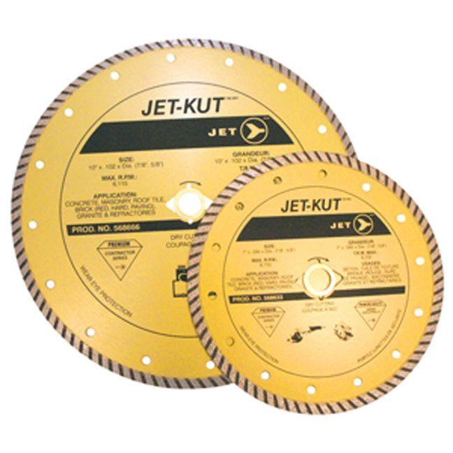 Jet 568603 4 x .095 x 7/8 (20mm,5/8) Turbo Diamond Blade