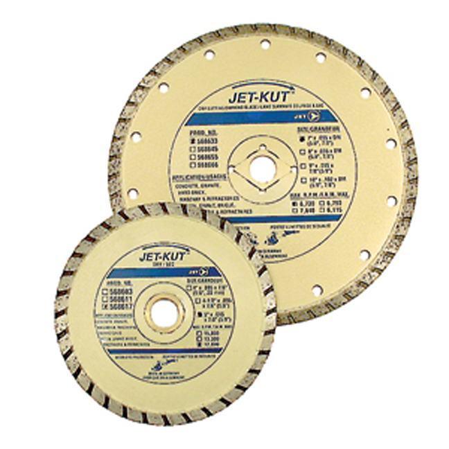 Jet 568666 10 x .102 x 7/8 (5/8) Turbo Diamond Blade
