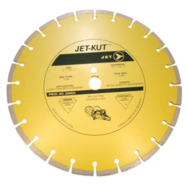 Jet 568824 14 x .125 x 1 Segmented Diamond Blade