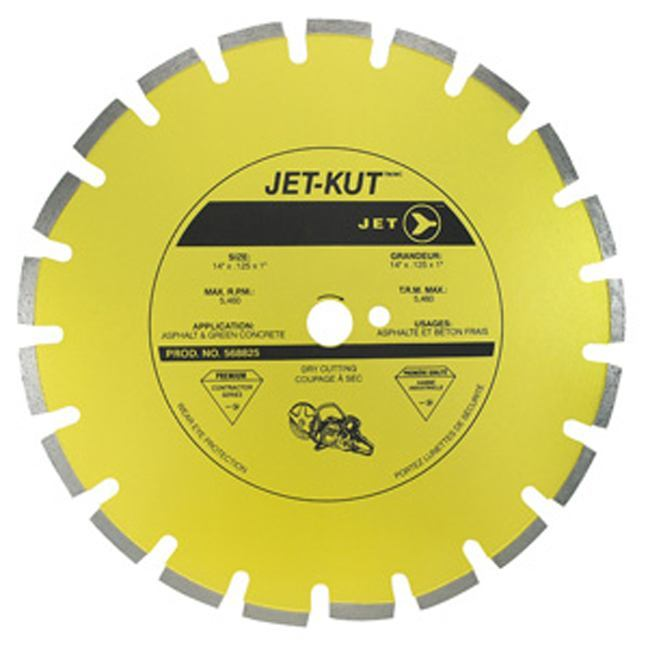 Jet 568825 14 x .125 x 1 Segmented Diamond Blade