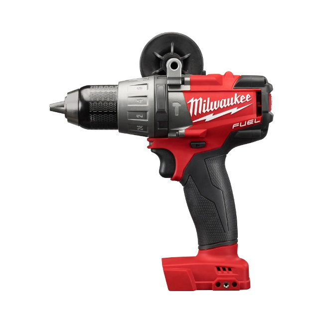 Milwaukee 2704-20 M18 FUEL Hammer Drill Driver Side