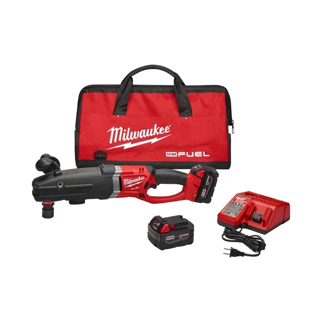"Milwaukee 2711-22 M18 FUEL SUPER HAWG 1/2"" Right Angle Drill"