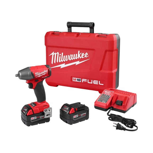 """Milwaukee 2754-22 M18 FUEL 3/8"""" Compact Impact Wrench"""