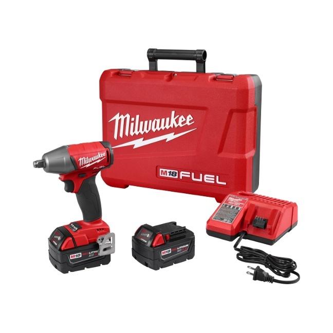 "Milwaukee 2755B-22 M18 FUEL 1/2"" Compact Impact Wrench"
